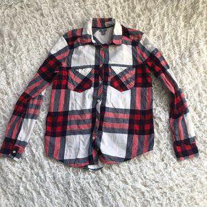 Aerie Women's Button Down Flannel